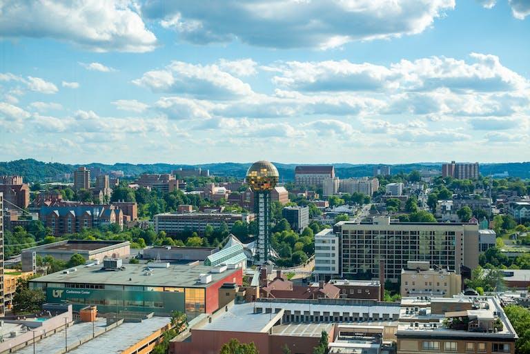 Radius Rooftop Lounge Sunsphere view