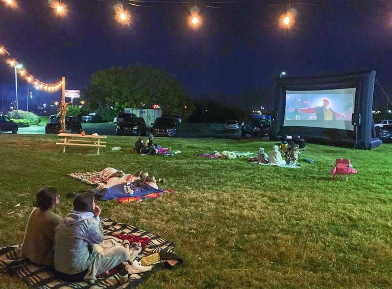 Movie night at The Streat Park!
