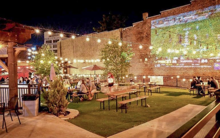 One of the best spots to watching University of Tennessee football games is Merchants of Beer
