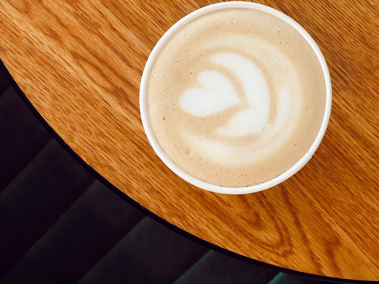 Pecan Pie Latte at Treetop Coffee Shop in West Knoxville