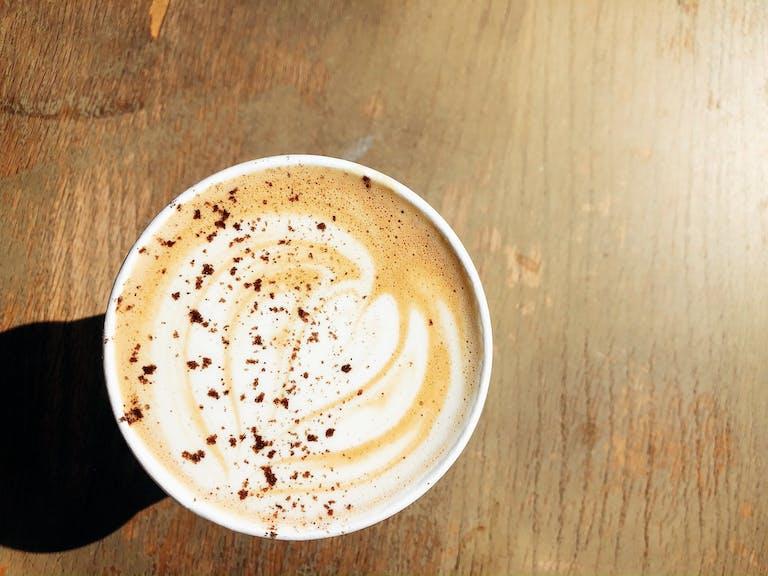 Likewise Coffee in East Knoxville Fall Seasonal Latte